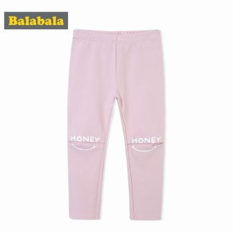 Balabala Kids Girls Pants Children Toddler Girl Slim Fit Trousers with Repaired...