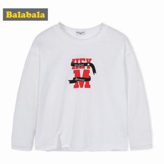 Balabala Toddler Boy Graphic Sweatshirt with Slits at Sides 100% Cotton Kids...