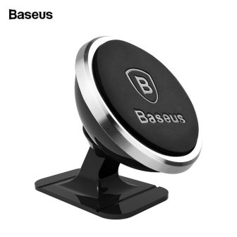 Baseus Magnetic Car Phone Holder For iPhone XS X Samsung Magnet Mount...