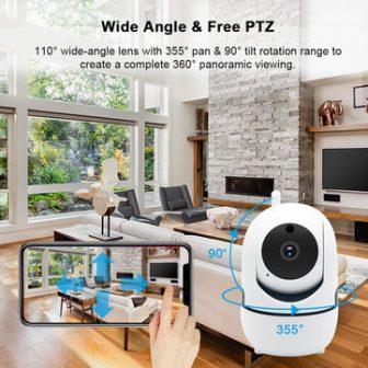 CES NEWS' 1080P Wireless WIFI IR Cut Security IP Camera Night Vision...