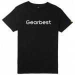 Gearbest Fifth Anniversary Men Short Sleeve T-shirt