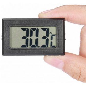 Hordozható LCD digitális hőmérő