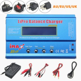 iMAX B6 80W 6A Lipo Battery Balance Charger with Power Supply AdapterRC...