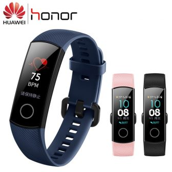 In Stock Huawei Honor Band 4 Smart Wristband AMOLED Color 0.95'' Touchscreen...