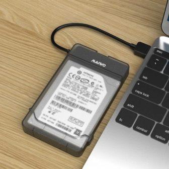 MAIWO K104 merevlemez ház tok 2,5 hüvelykes HDD SSD-hez
