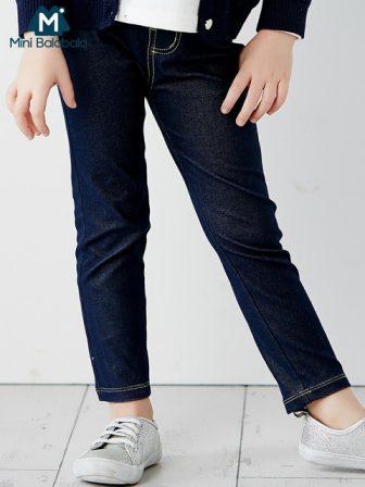 Mini Balabala Kids Thermal Cotton Leggings For Girls Toddler Kids Bottoms Pants...
