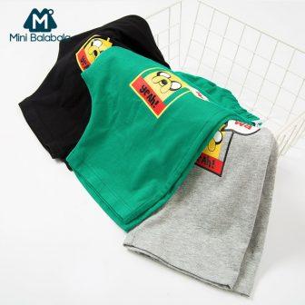 Mini Balabala Toddler Boy 100% Cotton Graphic Sport pants with Pocket Children...