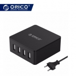 ORICO 4 Ports Smart Phone Super Charger 5V 6.0A 30W Output