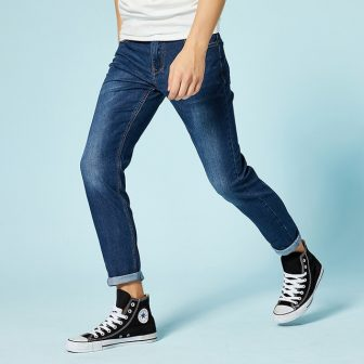 SEMIR jeans for mens slim fit pants classic jeans male denim jeans...