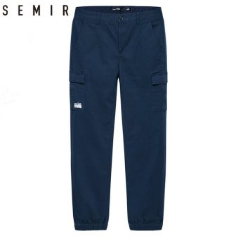 SEMIR Leisure men's Pants Male Solid Cotto trousers 2018 summer new popular...