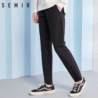 SEMIR pants for men cargo pants men casual pants Solid Color Leisure...