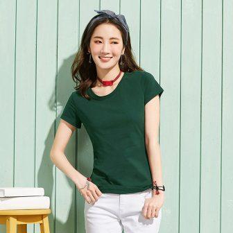 SEMIR women tee tshirt clothes O-Neck Short Sleeve Female T-shirt Cotton Tops...