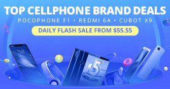 TOP CELLPHONE BRAND DEALSPOCOPHONE F1 • REDMI 6A • CUBOT X9DAILY FLASH...