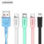 USAMS USB kábelek minden mennyiségben, már 1,09$-tól!
