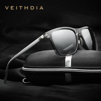 VEITHDIA Brand Unisex Retro Aluminum+TR90 Sunglasses Polarized Lens Vintage Eyewear Accessories Sun...