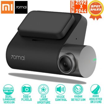 Xiaomi 70mai Dash Cam Pro Smart Car 1944P HD Video Recording With...