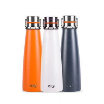 XIAOMI KISSKISSFISH SU-47WS 475ML Smart Vacuum Thermos Water Bottle Thermos Cup Portable...